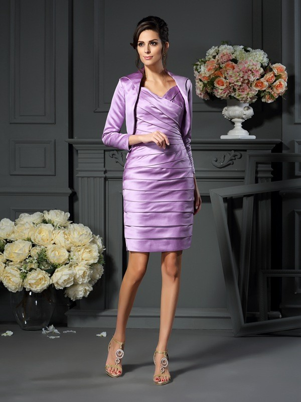Satin 3/4 Sleeves Special Occasion Wrap